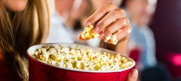 palomitas Qué comer en el cine? Qué comer en el cine? palomitas