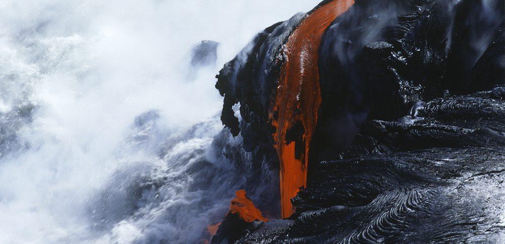 Hawaii parque nacional lava Parque Nacional Volcanes de Hawái Parque Nacional Volcanes de Hawái volcanes hawai 1