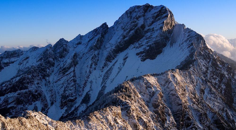 Yushan paisaje Yushan, la montaña Jade de Taiwán Yushan, la montaña Jade de Taiwán yushan